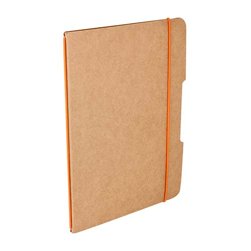 LIBRETA BARRON COLOR NARANJA