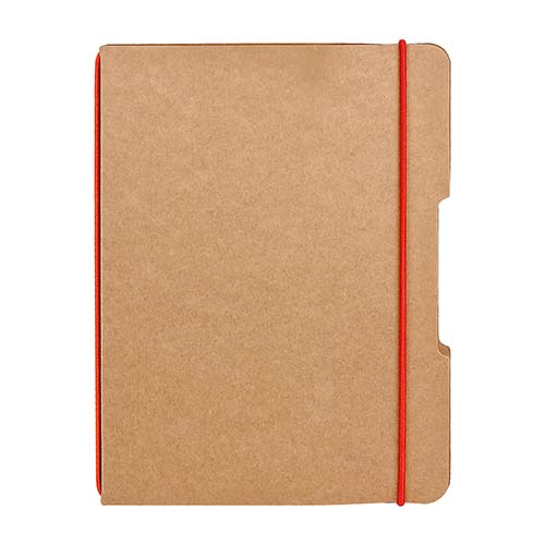 LIBRETA BARRON COLOR ROJO