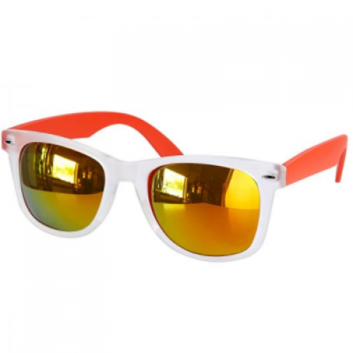 LENTES MIRROR COLOR NARANJA