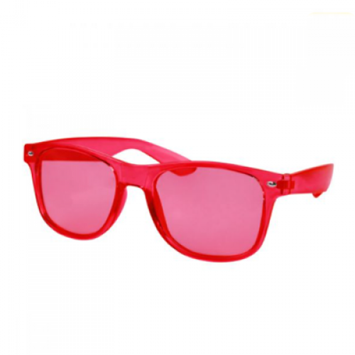 LENTES MARONI COLOR ROJO