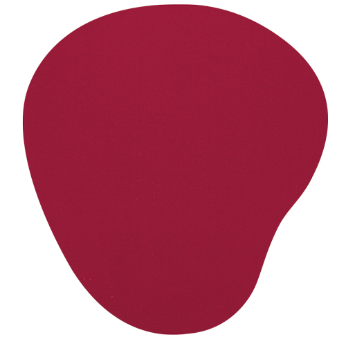 MOUSE PAD BEAN COLOR ROJO