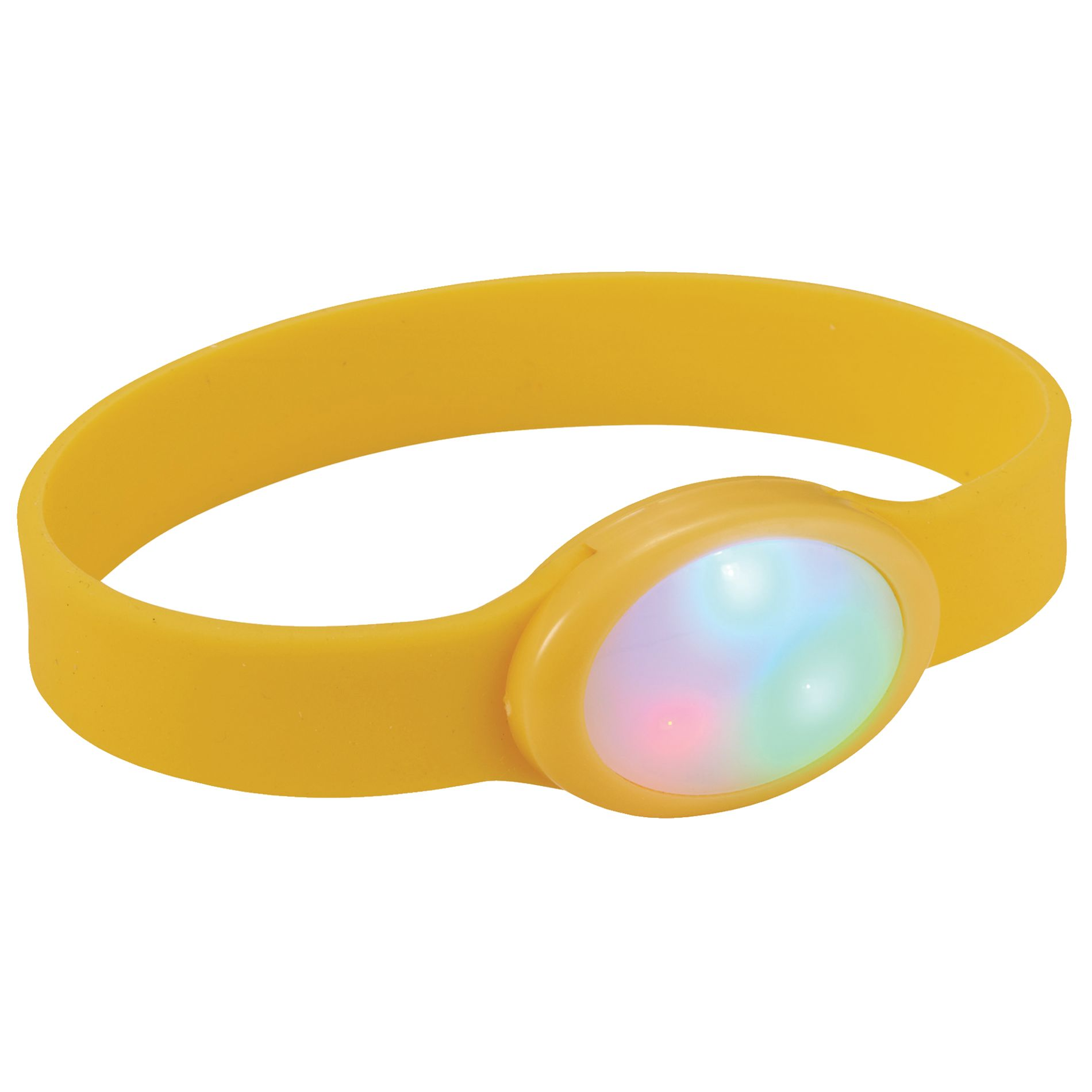 BRAZALETE MULTICOLOR DE LED FLASH   AM