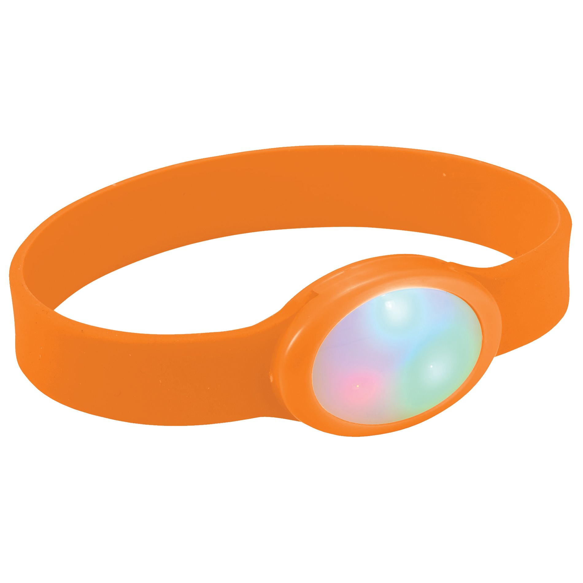 BRAZALETE MULTICOLOR DE LED FLASH   NR