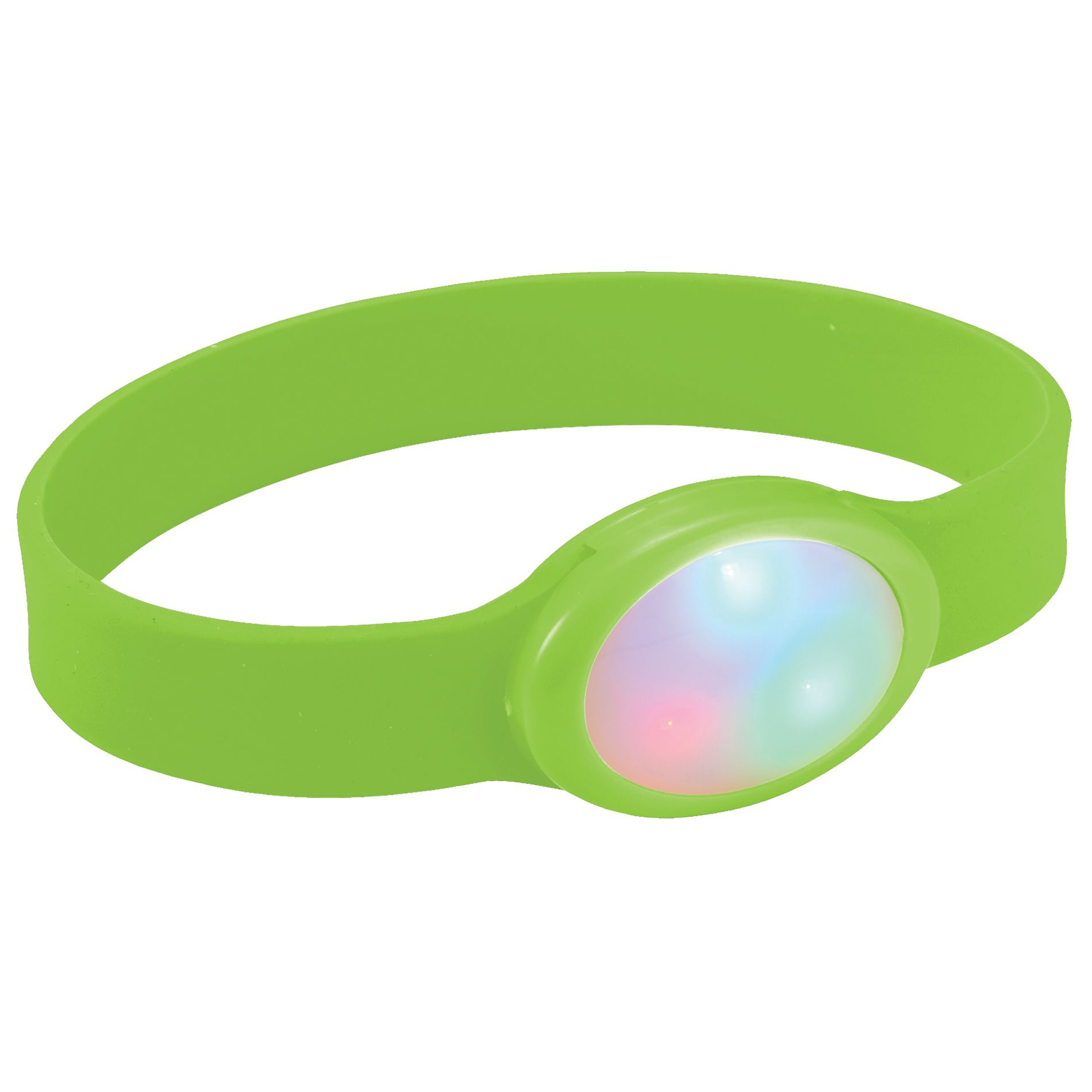 BRAZALETE MULTICOLOR DE LED FLASH   VE